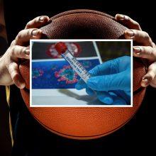 Neeilinė situacija: ASVEL per rungtynes sužinojo apie žaidėjui diagnozuotą COVID-19
