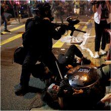 Pekinas: Honkongo prioritetas – nubausti smurtautojus