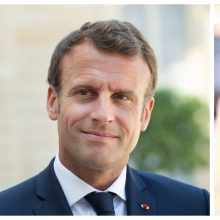 E. Macronas pakvietė B. Johnsoną apsilankyti Prancūzijoje
