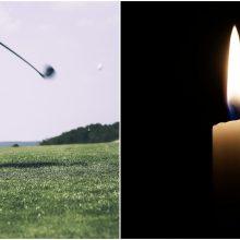 Jutoje tėvo paleistas golfo kamuoliukas mirtinai sužeidė šešiametę dukrą