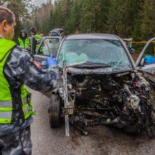 Šiurpinanti avarijų statistika: nuo metų pradžios eismo įvykiuose žuvo 129 žmonės