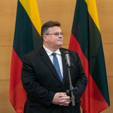 LSDDP: būtų sunku rasti geresnį užsienio reikalų ministrą nei L. Linkevičius