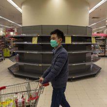 Išpuolis Honkonge: ginkluota gauja pavogė šimtus tualetinio popieriaus ritinėlių