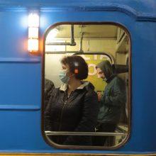 Ukrainoje per praėjusią parą išaiškinti 483 nauji COVID-19 atvejai