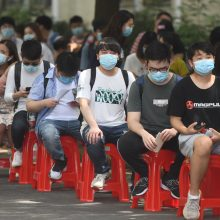 Kinijos Uhano mieste patikrinus 10 mln. žmonių, nustatyta 300 COVID-19 atvejų