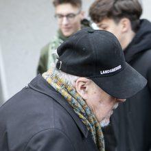 """Gimimo dienos proga V. Landsbergis sulaukė netikėtos choro """"Ąžuoliukas"""" staigmenos"""