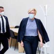 "I. Šimonytė: Lietuva prašo Danijos ""AstraZeneca"" vakcinos"