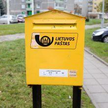 Susisiekimo ministras: stengiamės formuoti nepriklausomą Lietuvos pašto valdybą