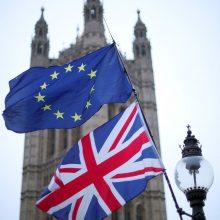 """Apklausa: kas penktas britas kaupia atsargas kietajam """"Brexit"""""""