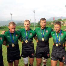 Lietuvos regbininkai olimpinėje atrankoje žais su anglais, vokiečiais ir gruzinais