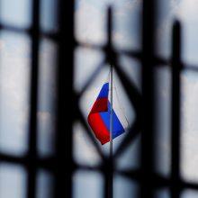 """Rusija: naujos Vakarų sankcijos """"visiškai nepriimtinos"""""""