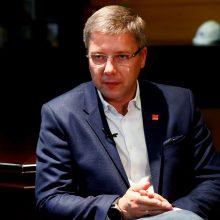 Atstatydintam Rygos merui N. Ušakovui suteiktas įtariamojo statusas korupcijos byloje