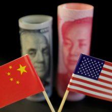 JAV prekybos sekretorius: penktadienį bus tęsiamos JAV ir Kinijos prekybos derybos