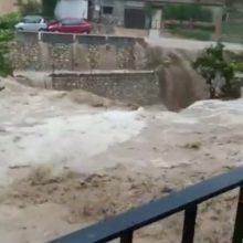 Ispanijoje po audros į mokyklas negali grįžti ketvirtis milijono mokinių