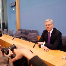 Buvęs Vokietijos aplinkos ministras sieks vadovauti A. Merkel partijai