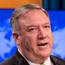 M. Pompeo: Rusija turi paleisti šnipinėjimu kaltinamą sergantį amerikietį P. Whelaną