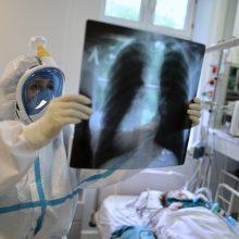 AFP: Europoje koronaviruso aukų skaičius viršijo 200 tūkst.