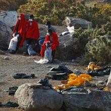 Prie Gran Kanarijos krantų išgelbėta pusšimtis migrantų