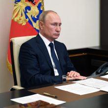 V. Putinas: balsavimas dėl konstitucijos įvyks liepos 1-ąją