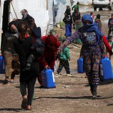 JT: dėl karų, krizių namus paliekančių žmonių skaičius per dešimtmetį išaugo dvigubai