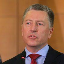 JAV ambasadorius Ukrainoje: Rusijos propaganda trukdo pasiekti taiką