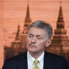 """D. Peskovas: Rusija """"de jure"""" ir """"de facto"""" yra Sovietų Sąjungos teisių perėmėja"""