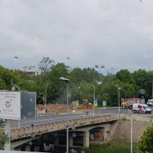Sujudimas Panevėžyje: prakirstas dujotiekis, ribojamas eismas