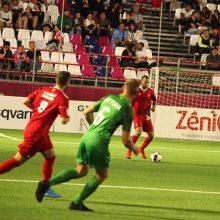 Lietuvos žygis pasaulio mini futbolo čempionate – sutriuškinta Maroko rinktinė