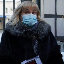 A. Navalno advokatė teigia, kad jai neleidžiama pasimatyti su klientu
