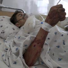 Rytų Afganistane nugriaudėjo sprogimas: žuvo trys žmonės, vienuolika sužeista