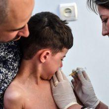 Vokietijoje įvesti privalomi vaikų skiepai nuo tymų