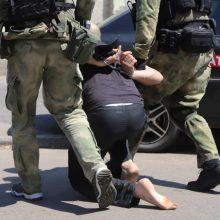 Ukrainos ir Rusijos žmogaus teisių įgaliotinės apsikeitė kalinių sąrašais