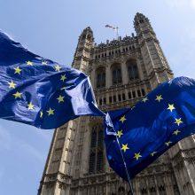 "B. Johnsonas sąmoningai kreipia D. Britaniją ""susidūrimo kursu"" su ES"