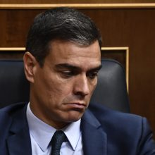 Ispanijos premjeras pralaimėjo balsavimą dėl pasitikėjimo