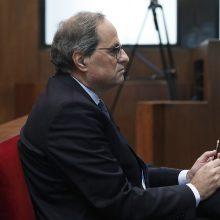 """Sulauks atpildo: Katalonijos prezidentas teisiamas dėl """"nepaklusnumo"""""""