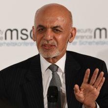 Afganistano rinkimų komisija galutinai patvirtino prezidento A. Ghani pergalę