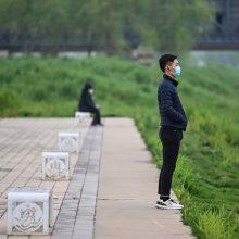 Kinija pranešė apie 36 naujus koronaviruso atvejus