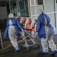 Italijoje per parą nuo koronaviruso infekcijos mirė 70 pacientų