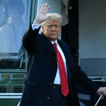 Estų europarlamentaras nominavo D. Trumpą Nobelio taikos premijai