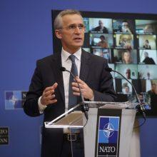 J. Stoltenbergas: NATO nepasitrauks iš Afganistano, kol nebus tinkamas laikas
