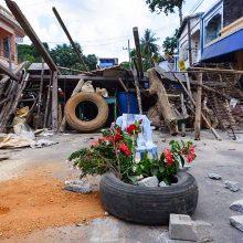 Stebėjimo grupė: Mianmare susidorojimo su protestuotojais aukų skaičius viršijo 500