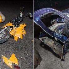 Praėjusi para šalies keliuose: žuvo žmogus, sužeisti mopedu važiavę du nepilnamečiai