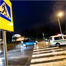 Nelaimės šalies keliuose: praėjusią parą labiausiai nukentėjo pėstieji