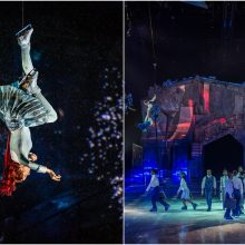 """Vienintelis """"Cirque du Soleil"""" šou ant ledo lietuvius kviečia į Rygą"""