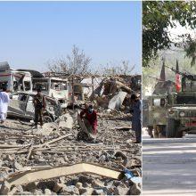 Talibaną sukrėtė sprogdinimai: aukų skaičius vis didėja