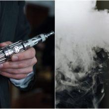 Aromatizuotų elektroninių cigarečių likimą spręs Seimas