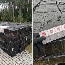 Krovininiame traukinyje – 100 dėžių su kontrabandiniais rūkalais