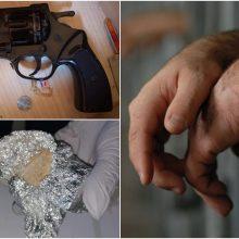 Marijampolės pataisos namuose – didelė krata: rasta daugybė draudžiamų daiktų