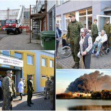 Alytuje dėl gaisro evakuotame reabilitacijos centre – normas viršijantis užterštumas