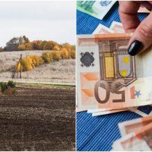 Žemės mokesčiui sumokėti – trys savaitės
